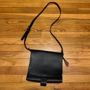 Our Tribe Leather Canvas Messenger Crossbody Bag